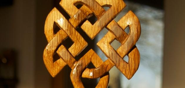 подвеска с кельтским орнаментом
