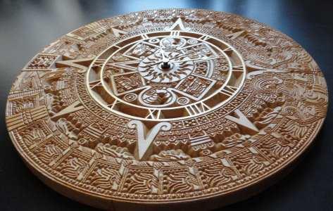 деревянные часы подарок