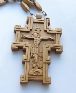 резной нательный крест