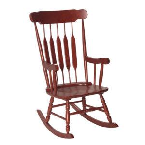 деревянный стул качалка
