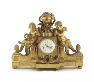 роскошные каминные часы