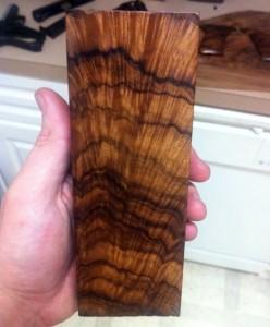 заготовка из древесины грецкого ореха