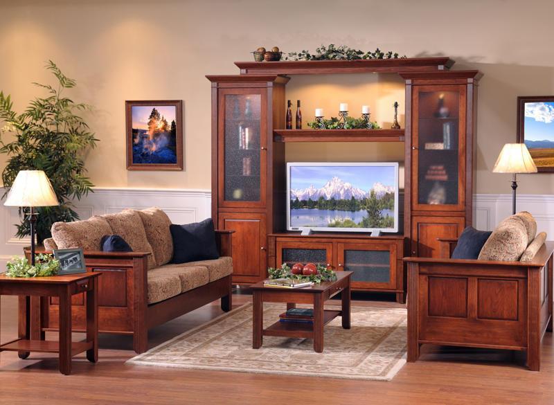 деревянный мебельный гарнитур