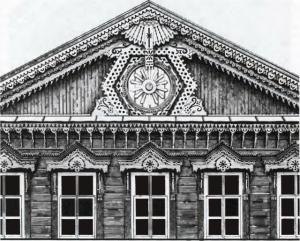 резной дом