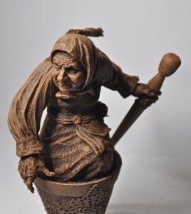 деревянная баба-яга