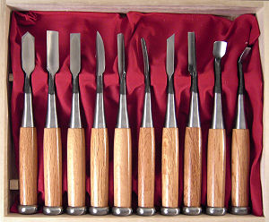 Ножи для плоской езьбы по дереву
