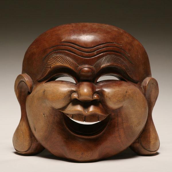 деревянная маска хотэя