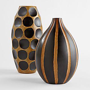 ваза из дерева манго