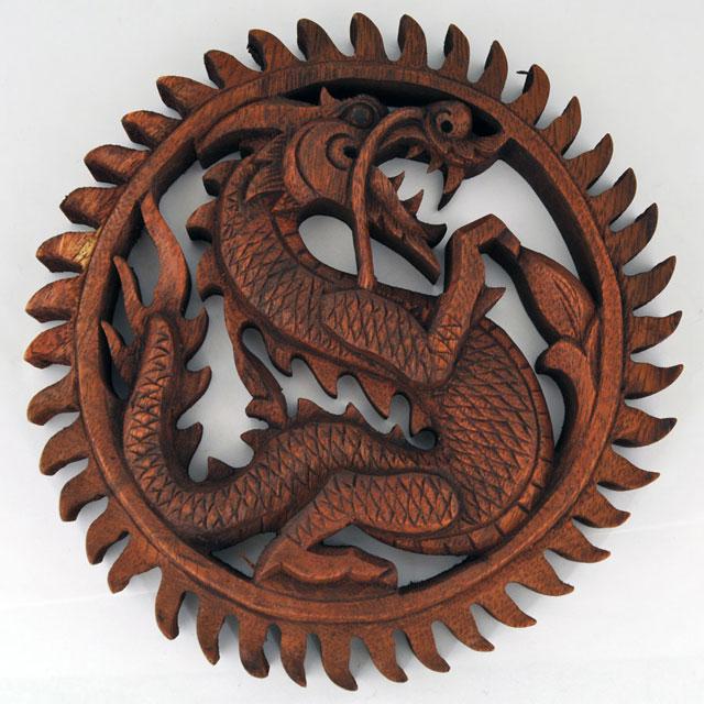 медальон с драконом