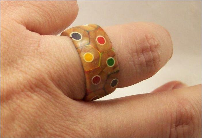 готовое деревянное кольцо 1