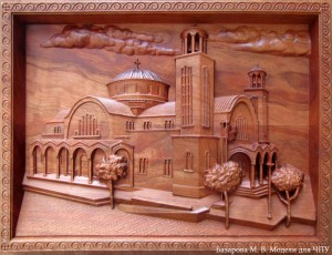 картина храм в паралимни