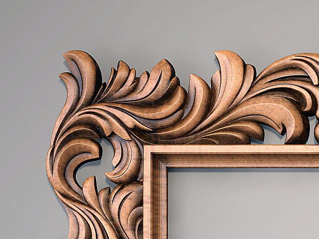 Резные деревянные рамы