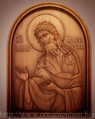 икона иоанн креститель