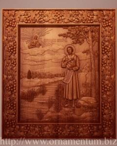резная икона симеон верхотургский