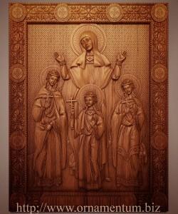 Икона Вера Надежда Любовь и мать и их София