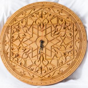 """Настенные деревянные часы """"Индия"""""""