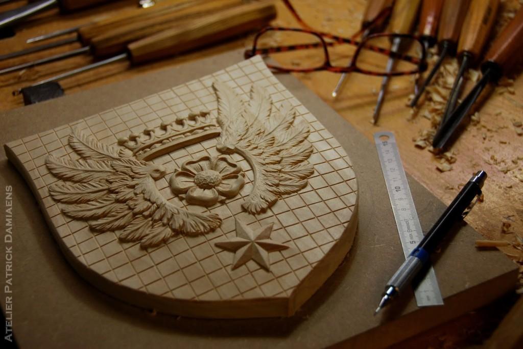 разлиновка щита на гербе