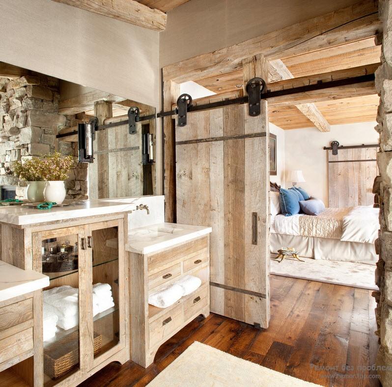 Натуральная древесина в интерьере