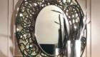 Зеркало из каталога, переработанное нашими резчиками