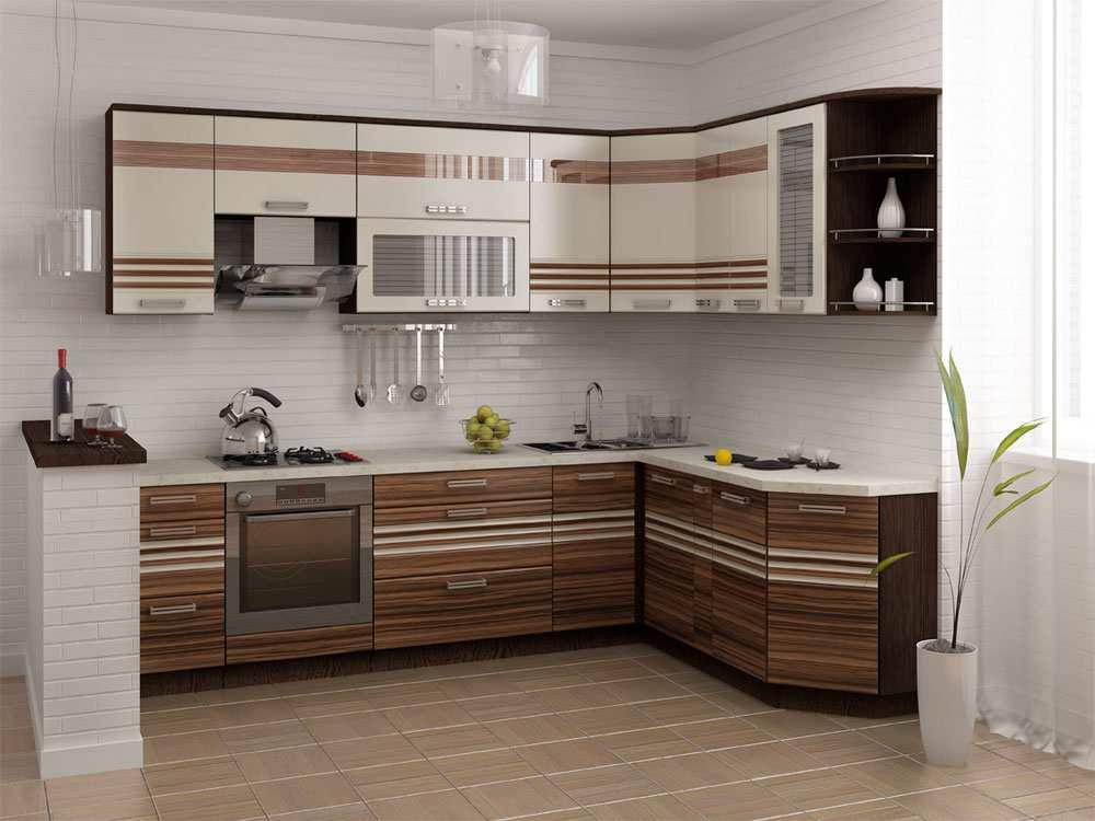 Кухня в стиле зебрано удивляет своей экзотичностью