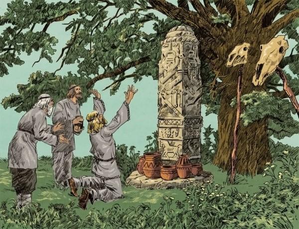 Деревьям поклонялись многие народы