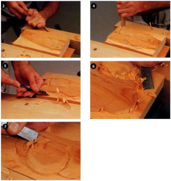 Как сделать рельефные панно