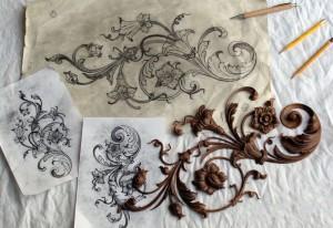 Изготовление макета и художественная резьба