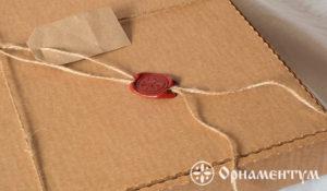 упаковка часов коробка со штампом