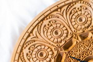 оригинальные резные часы тайланд