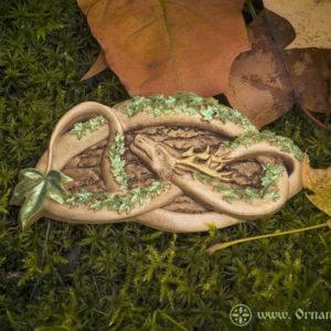 заколка лесной змей