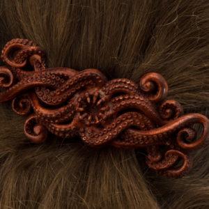 "Заколка для волос ""Кракен"""