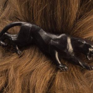 Заколка для волос Пантера
