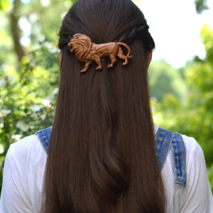 "Заколка для волос ""Лев"""