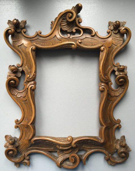 рама для картины в стиле барокко